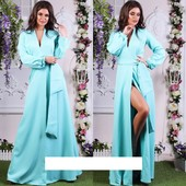 Акция, супер платье в пол весна-осень