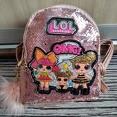 Красивенные рюкзаки с куклой Лол