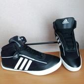 Супер цена! Кожаные мужские кроссовки Adidas. Шикарное качество!