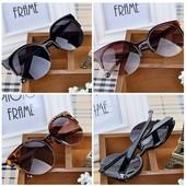 Добавила новинки! Шок цена! Шикарные солнцезащитные очки! Много разных моделей!