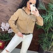 Вельветовые рубашки р.42-48 - 7 цветов, рубашка теплая, рубашка женская вельвет