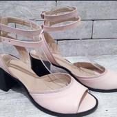 Кожаная летняя обувка , 5 пар и выкуп Опт цены