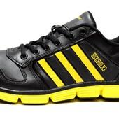 Мужские кроссовки из натуральной кожи (VD-A11)
