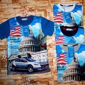 Модные футболки с имитацией на мальчишек 98-164 р
