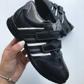 Кожаные туфли в школу мальчишкам В наличии 22,5см Быстрая отправка!
