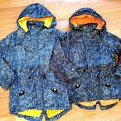 Демисезонные куртки-парки Grace на мальчиков 134-164 р