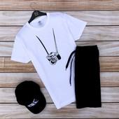 Финальная распродажа фирменных мужских футболок