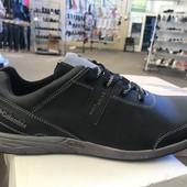 Мужские кожаные кроссовки по распродаже успей купить 42-е размеры