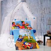 Фирменные турецкие постельки в кроватку