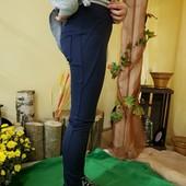 Лосины, штаны для девочек(синий черный, серый) на флисе, меху, 98-152рр,Украина. Качество! Сбор!