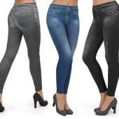 Леджинсы slim 'n lift caresse jeans джинсовые леггинсы , лосины, легенцы, утягивающие лосины