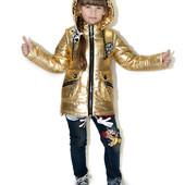Демисезонные красивые куртки-жилетки для девочек выкуп от 1 штуки
