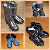 Детские зимние ботинки Clibee, Apawwa р: 26-37. В наличии!!! Ждать не нужно. Очень тёплые новинки.