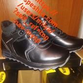 Детская кожаная зимняя обувь для мальчиков 33-22,5см в наличии Фото мои реал Качество хорошее