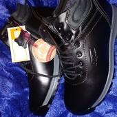 Зимние ботинки Kangfu Кожа в наличии 40 +новый сбор