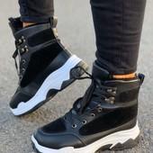 Очень удобные и теплые зимние ботинки.Свободны 37,41 кому?
