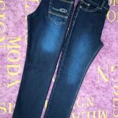 Теплые джинсы и брюки для мальчиков, р.6-13
