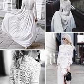 Кружевные блузки , качество люкс . Цвет белый ,черный