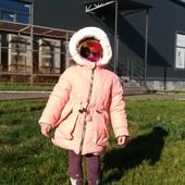 Куртки зимние ТМ Одягайко 74-134р, мальчикам и девочкам.