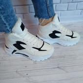 Женские кроссовки зима на меху