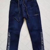 Утеплённые (на флисе) джинсы, джоггеры Венгрия , мальчикам 98-164рр.Супер-качество .Наличие. Сбор