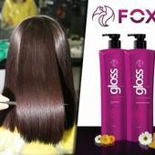 Fox Gloss кератин для выпрямления волос