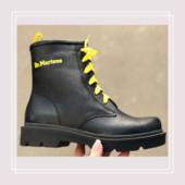 Женские зимние ботинки натуральная кожа в стиле Dr. Martens (36-41)