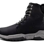 Ботинки мужские KMB зимние черные (М-1918-blk)