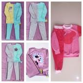 Качественные велюровые костюмы и кофты Минни и Микки, весенние костюмы из двухнитки