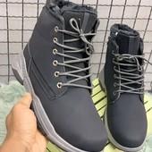 Ботинки чёрные зима ❄️
