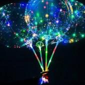 Шарики воздушные с подсветкой..