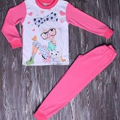 Пижама хлопок с начесом и без от 100 см до 134 см, 110грн и 140 грн.