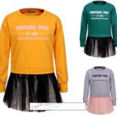 Модная кофта для девочек glo-story 110-160 р. Большемерят
