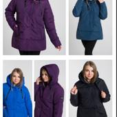 Демисезонная куртка женская батал (р.50-66). Украина. Есть обмен и возврат