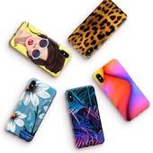 Чехлы для различных моделей телефонов, смартфонов с любым дизайном, надписью или фото
