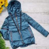 Стильные и модные демисезонные курточки для девочек 116-164 размер.
