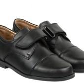 Акция Braska -31,-32,-33,-34,-35,-36,-37,-38,-39 кожаные натуральные школьные туфли мальчикам