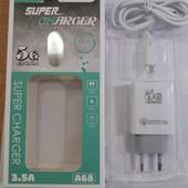 Качественное зарядное устройство 3.5А