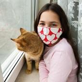 А вы одеваете маску? В комплекте идёт вкладыш из 8ми слоев марли!