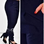 Новые брюки ткань софт идеальны в посадке и носке! на р. 44, 46, 48, 50, 52, 54, 56, 58, 60, 62, 64