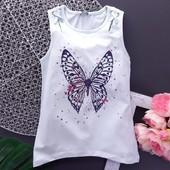 Новинки, футболки, майки, шорты для девочек. Турция