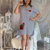 Платья-рубашка, спортивные платья 48-58 размер!