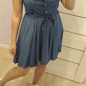Джинсовые платье Турция р. 48-56