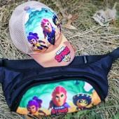 Новинки бананки, кепки, рюкзаки Brawl Stars мальчикам