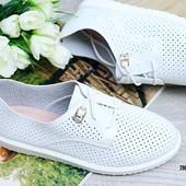 Безумно крутите и стильние туфельки Кожа