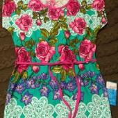 Платье- туничка 100% котон. От одной штуки. 75грн