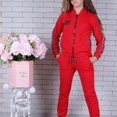 Супер стильный костюм тройка для девочек. Размеры 134-164см