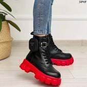 Трендовые ботинки на весну)