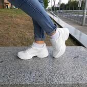 Кроссовки кожаные белые женские ™torsion сбор от 5 единиц