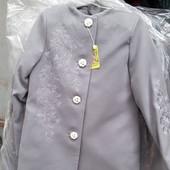 Пальто для девочки 128-134-140-146 Кашемир